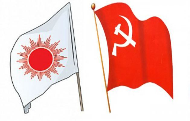cpn-uml-and-maoist-flag